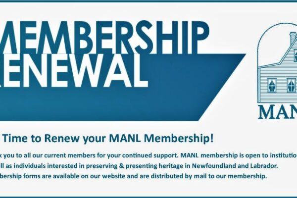 MANL Membership Renewal